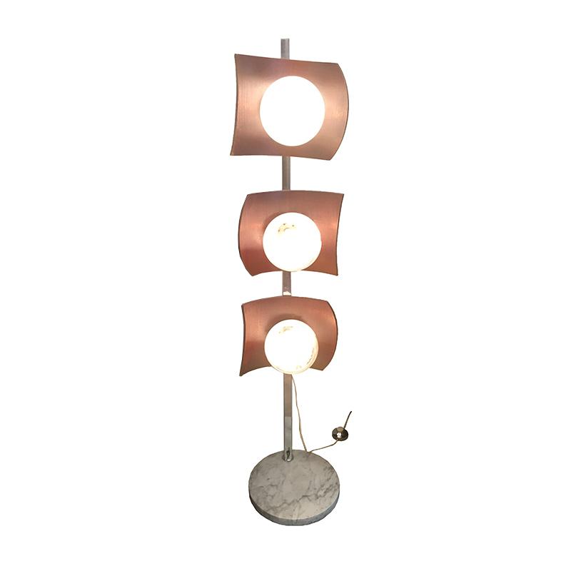 Toni Zuccheri – Rare Murano Floor Lamp – Circa 1973