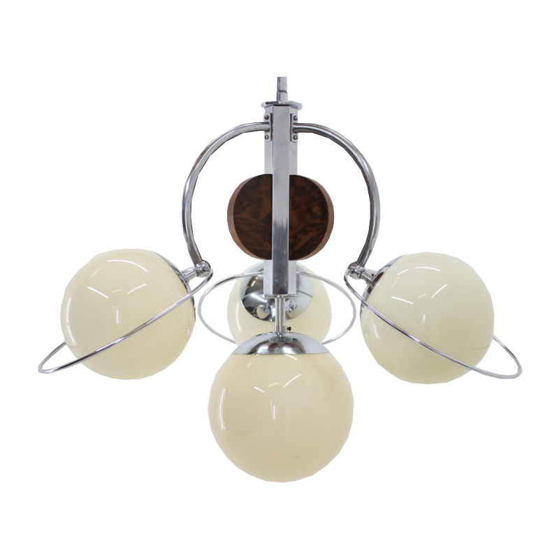 1930s Beautiful Art Deco Chandelier