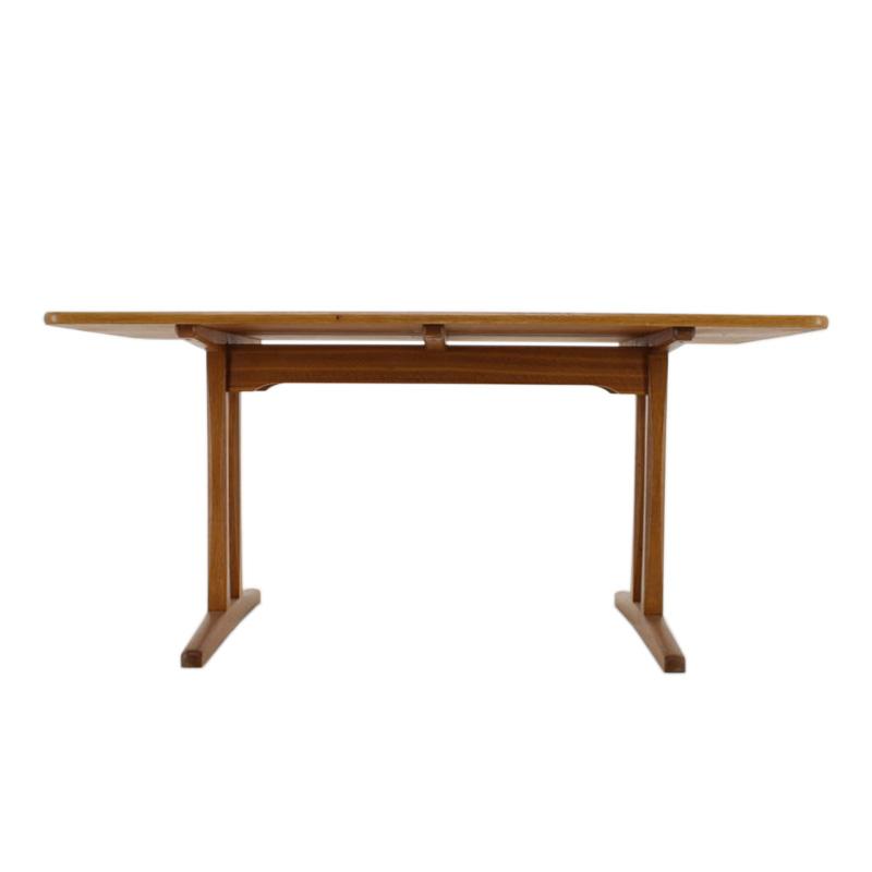 1960s Borge Mogensen Shaker Solid Oak Dining Table