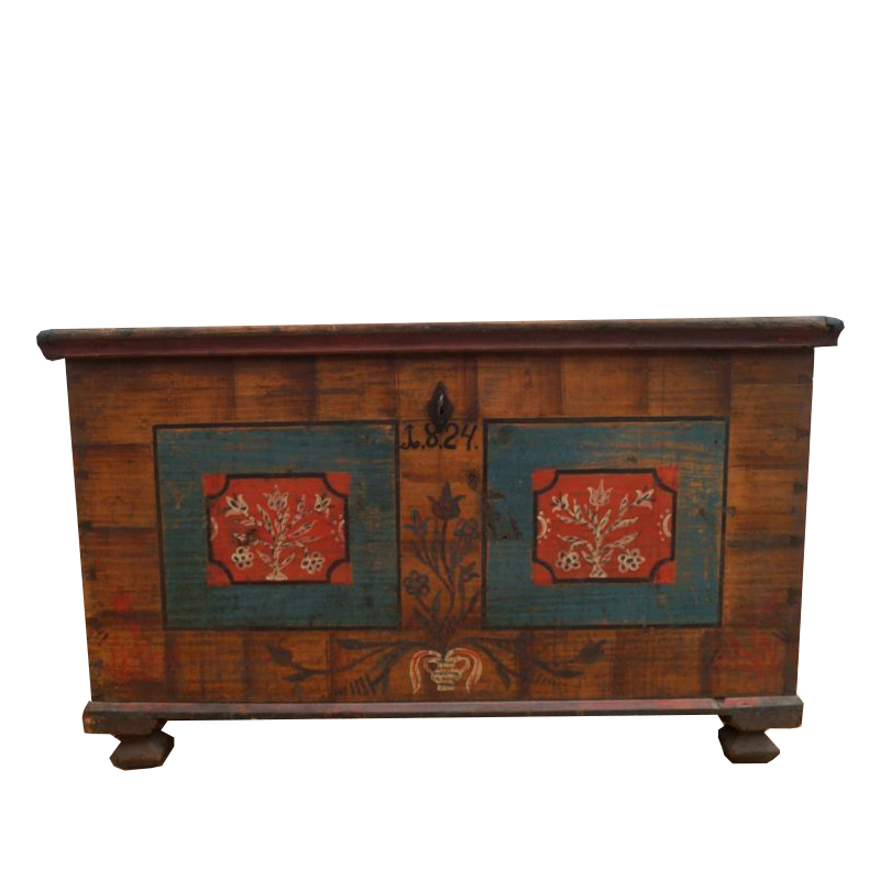 Painted Coffer
