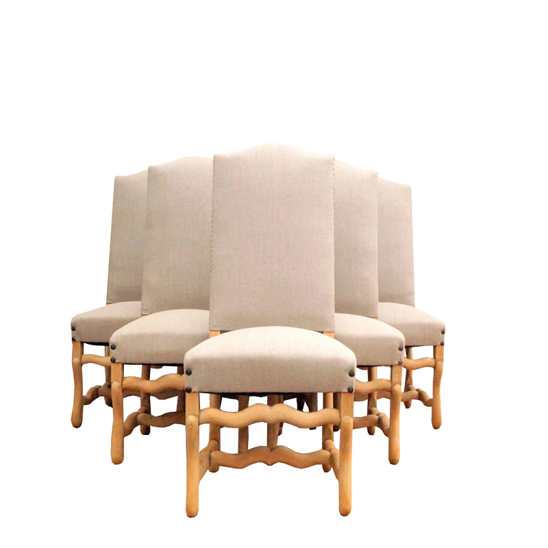 Mid-Century Os De Mouton Chairs