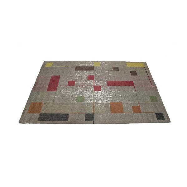 Bauhaus Style Carpet, 1940s