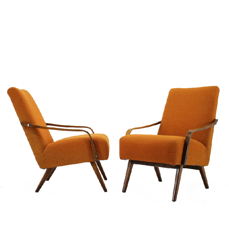 Set of two armchairs, 1960´s.
