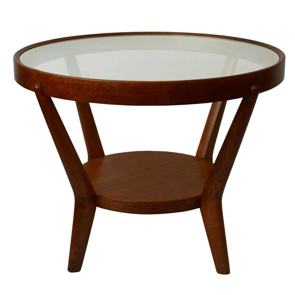Mid Century Coffee Table by Antonin Kropacek and Karel Kozelka for Interier Praha