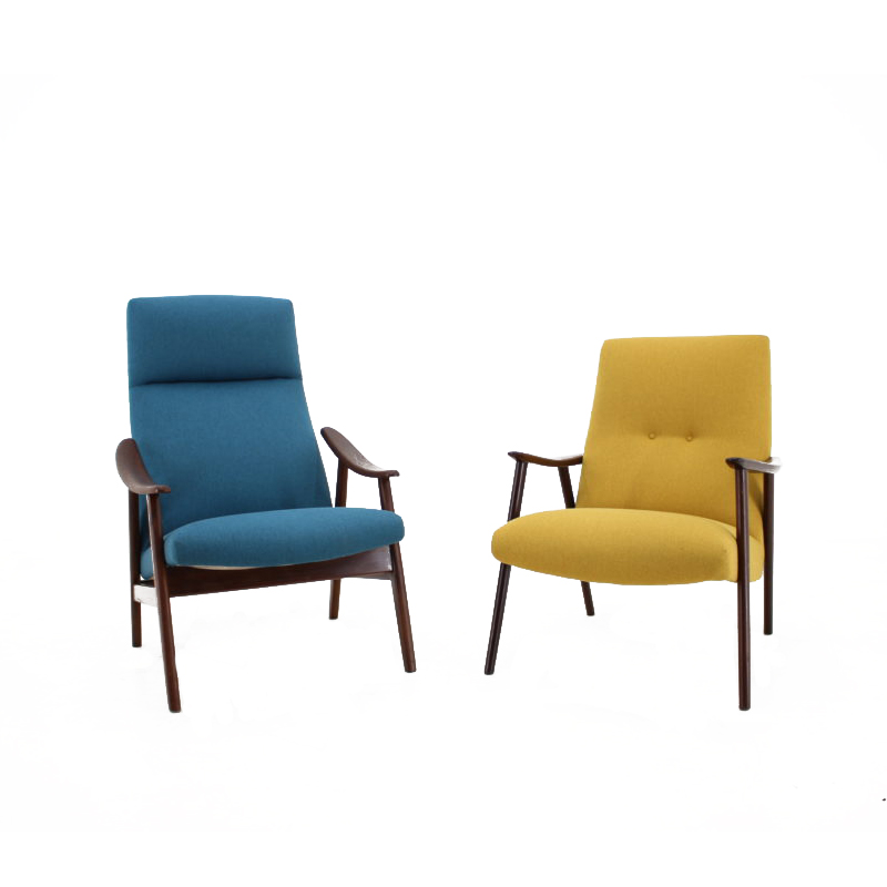 1960s Set of two Danish Armchairs