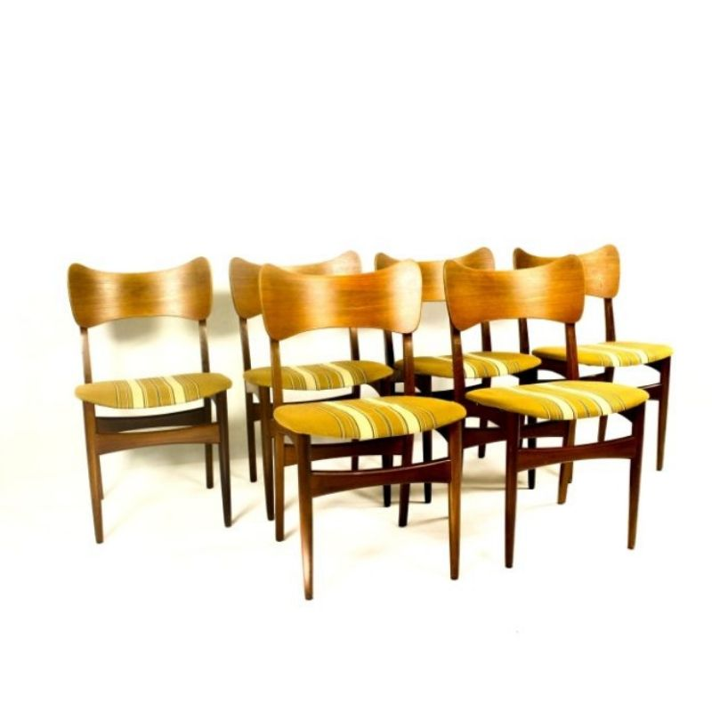 Vintage Teak Dining Chairs,1960s
