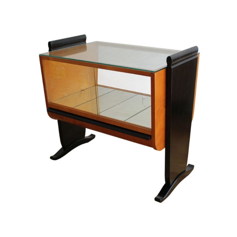 1930s Art Deco Drinks Cabinet by Jindrich Halabala for UP Zavody