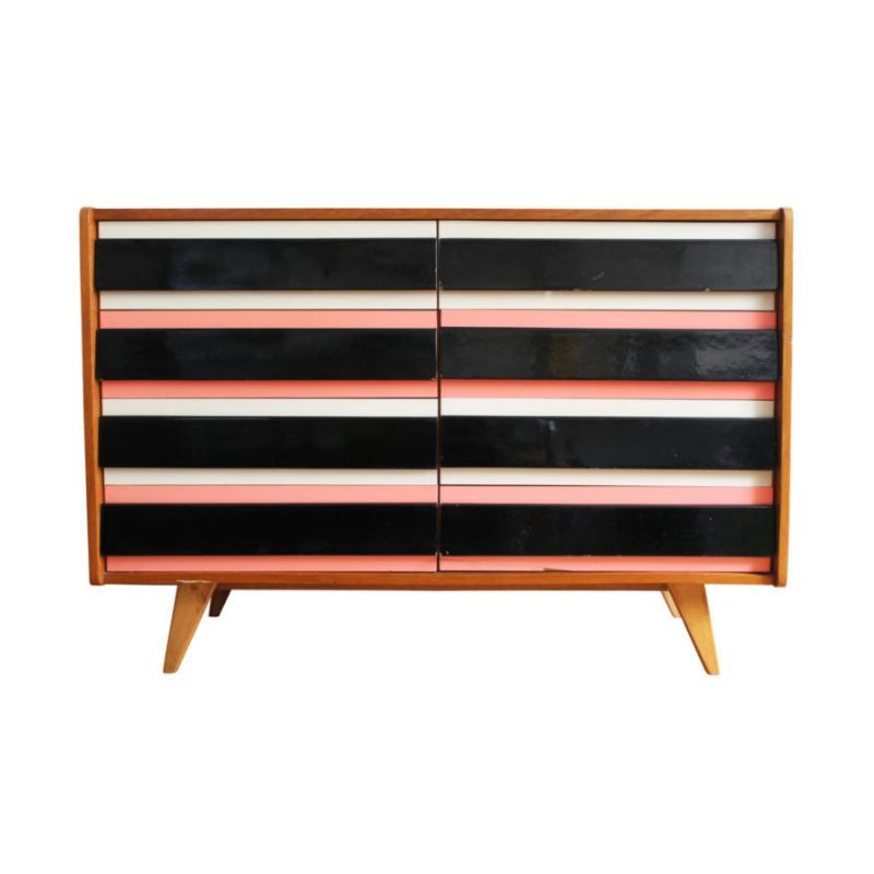 Rare Version of U-453 Sideboard by Jiri Jiroutek for Interier Praha