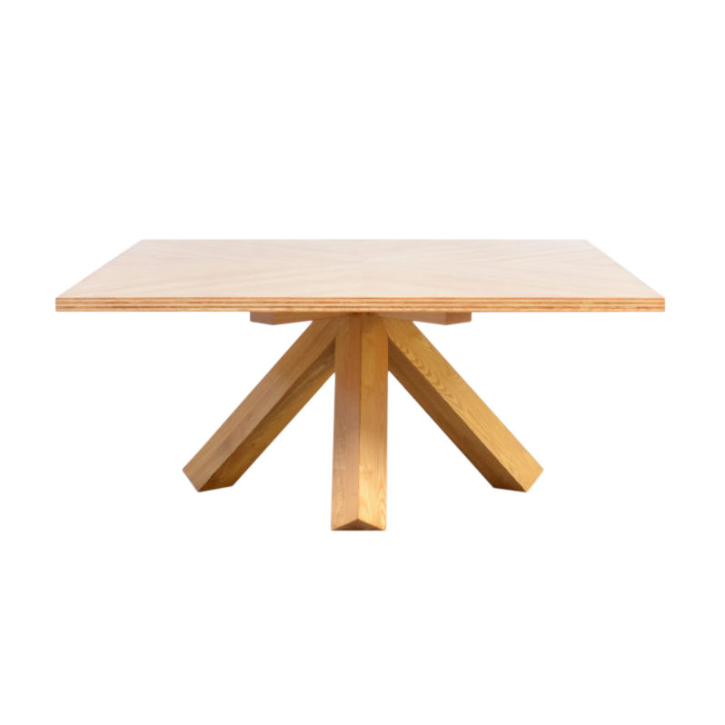 Architectural Dining Table by Mario Bellini