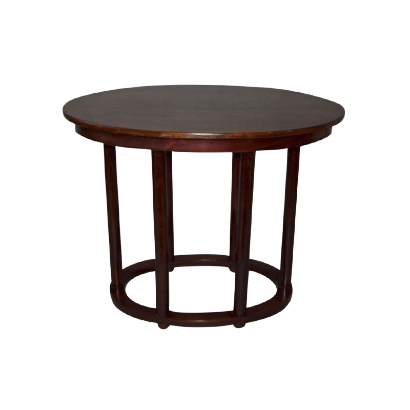 Josef Hoffmann Oval Table For Thonet, 1910s