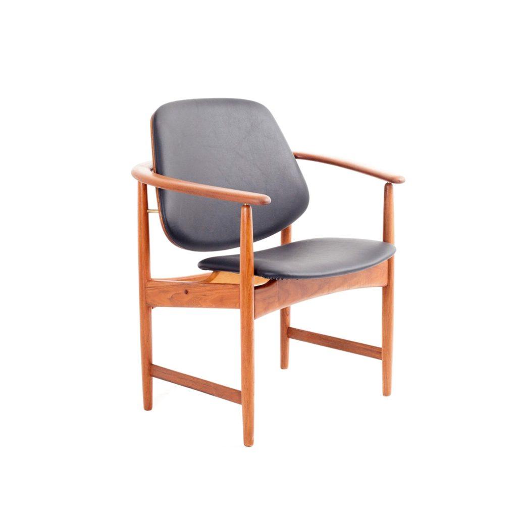 Armchair designed by Arne Hovmand Olsen. Denmark, 1960s.