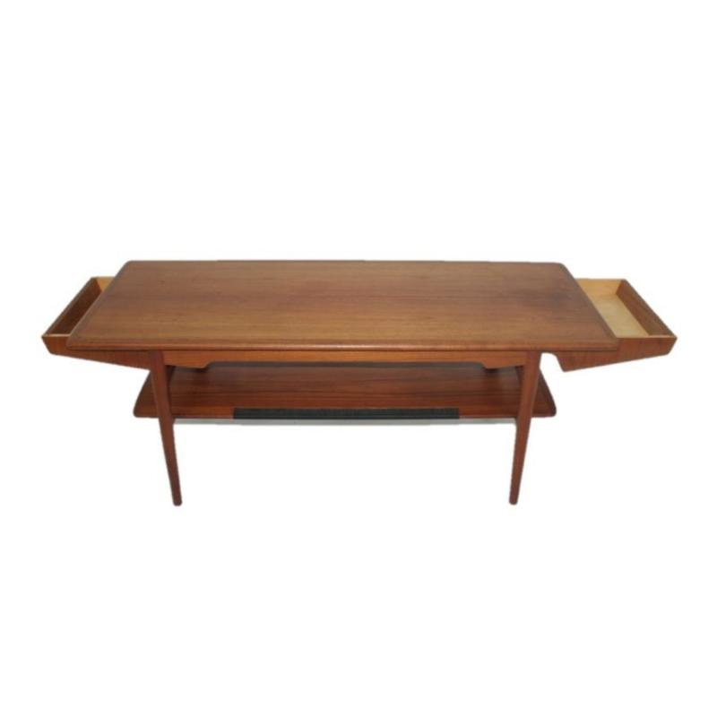 Danish club table, Denmark, 1960s.