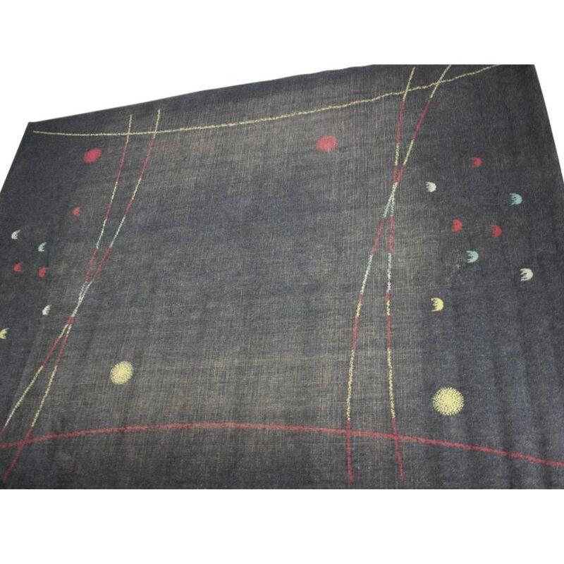 Large Midcentury Carpet, Czechoslovakia, 1960s