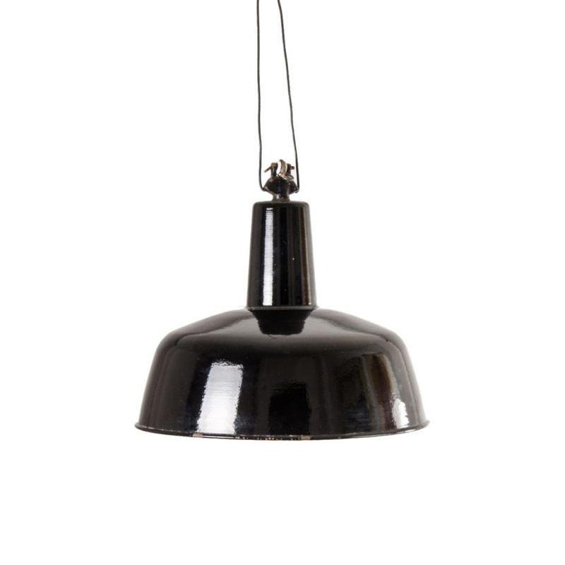 German Glazed Ceiling Lamp
