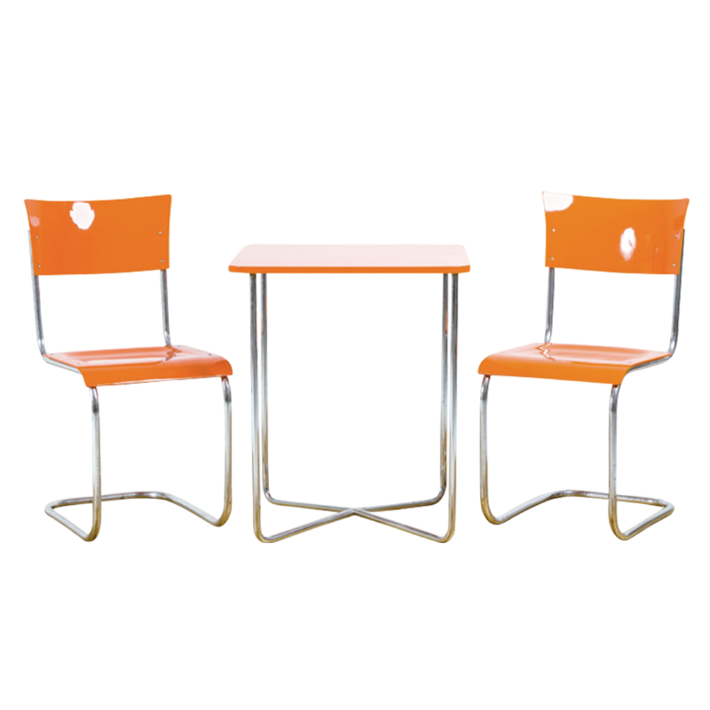 Table & 2 Chairs from Mucke Melder, 1940s