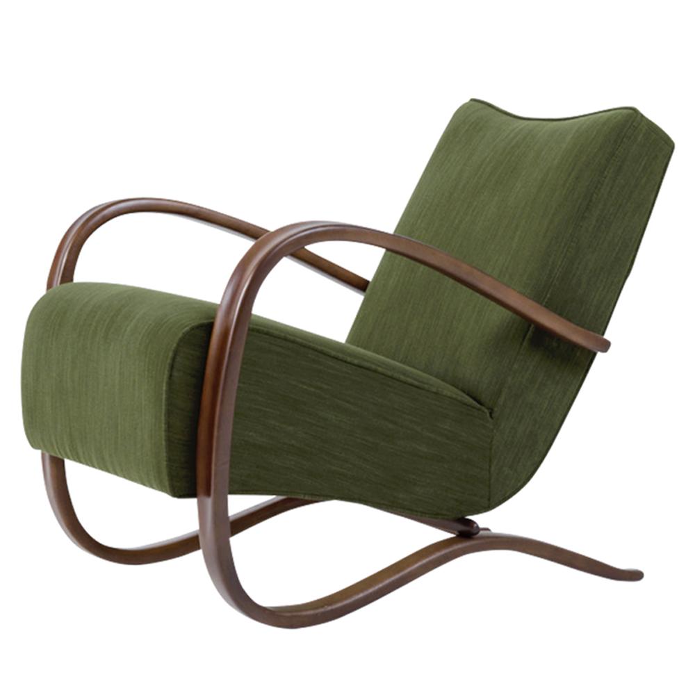 H-269 Lounge Chair by Jindřich Halabala, 1930s