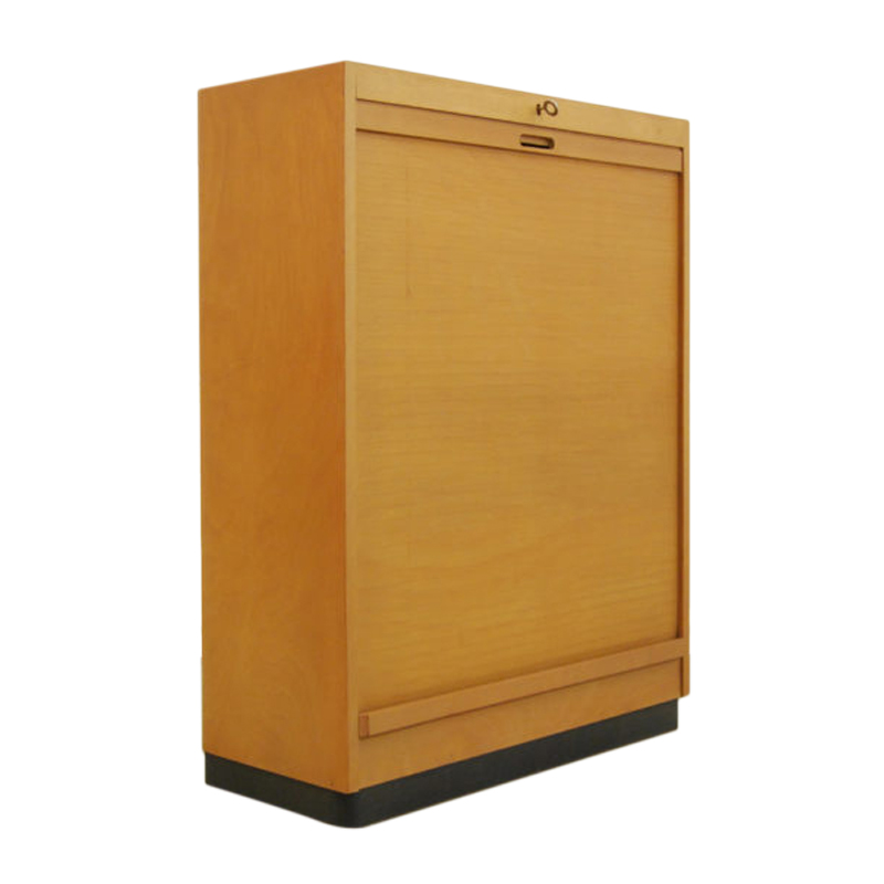 Vintage Birch Cabinet from Ekawerk Lippe, 1950s