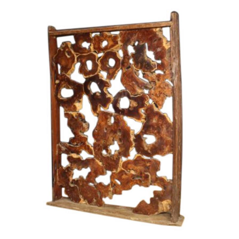 Room divider / sculpture in wood