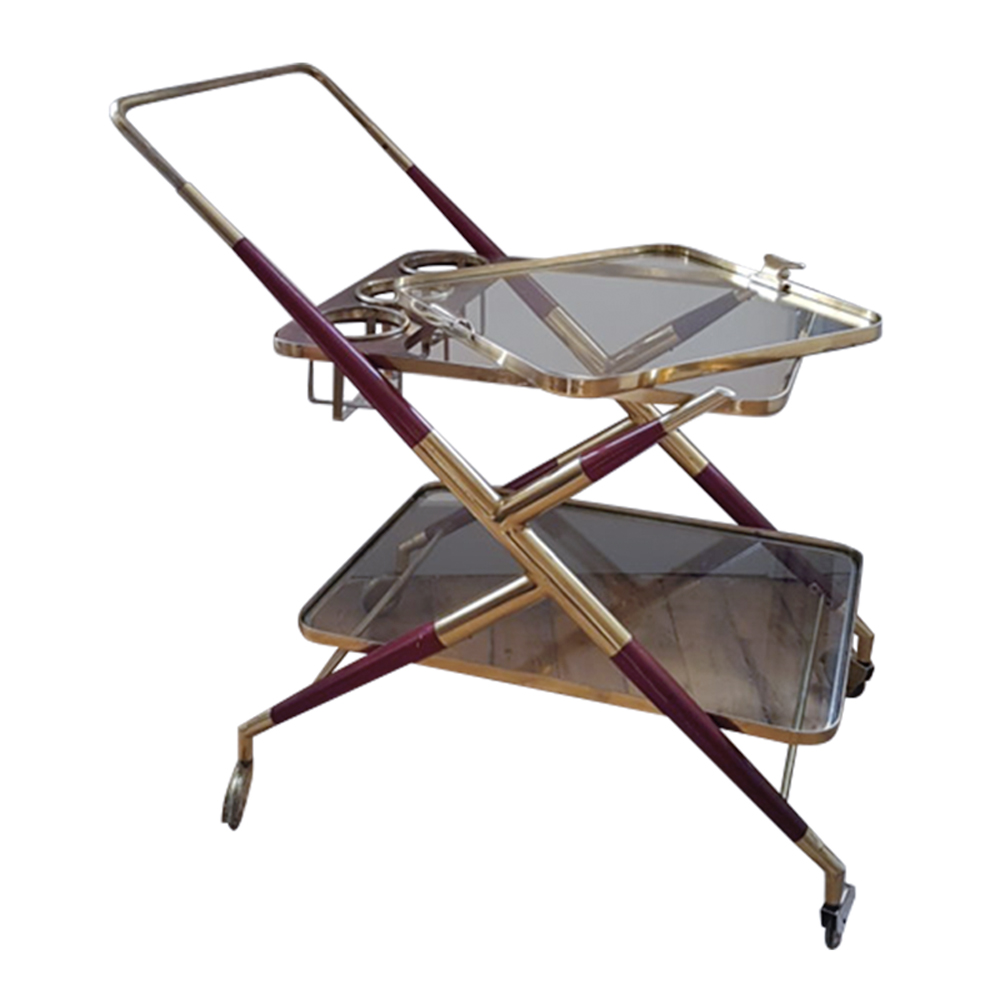 Mid-Century Service Trolley by Cesare Lacca for Cassina