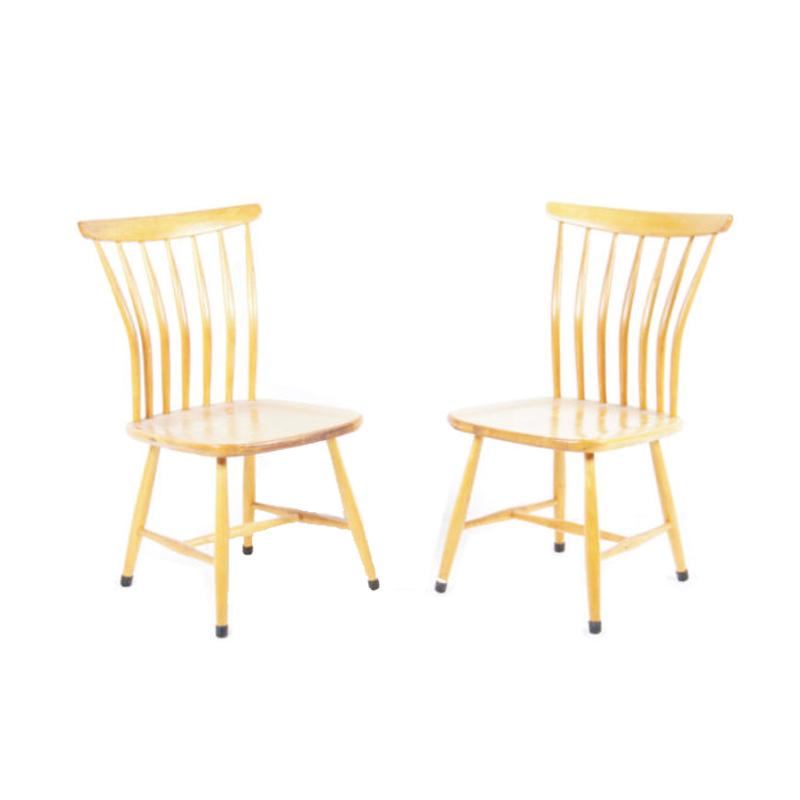 SZ03 Dining Chairs by Bengt Akerblom & Gunnar Eklof for Akerblom, 1950s Set of 2