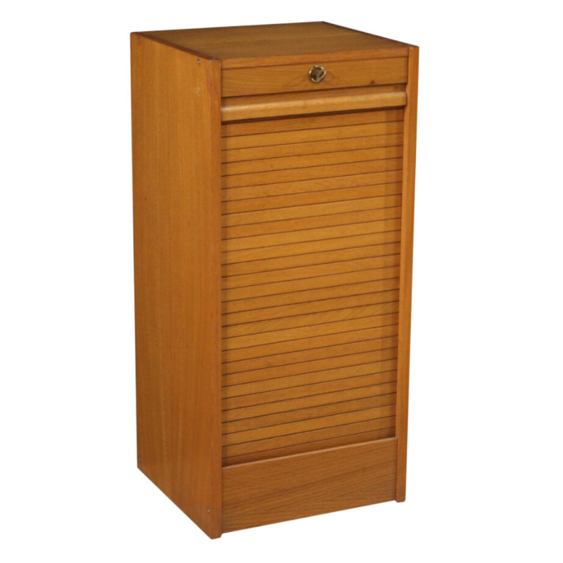 French filing cabinet in wood