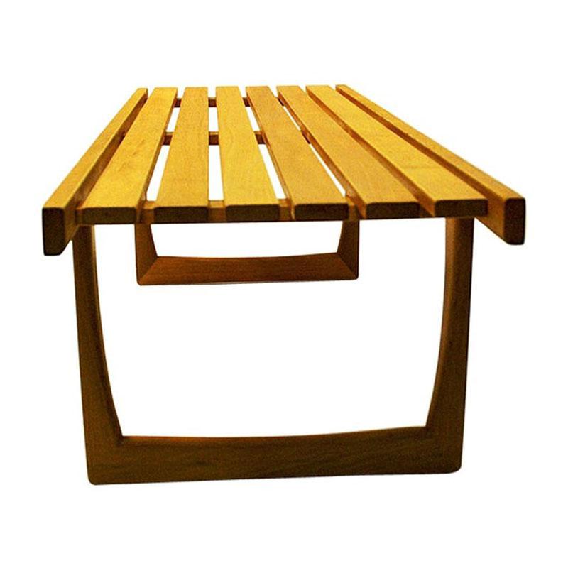 Midcentury Tokyo oak bench/table by Yngvar Sandström for NK 1964- Sweden
