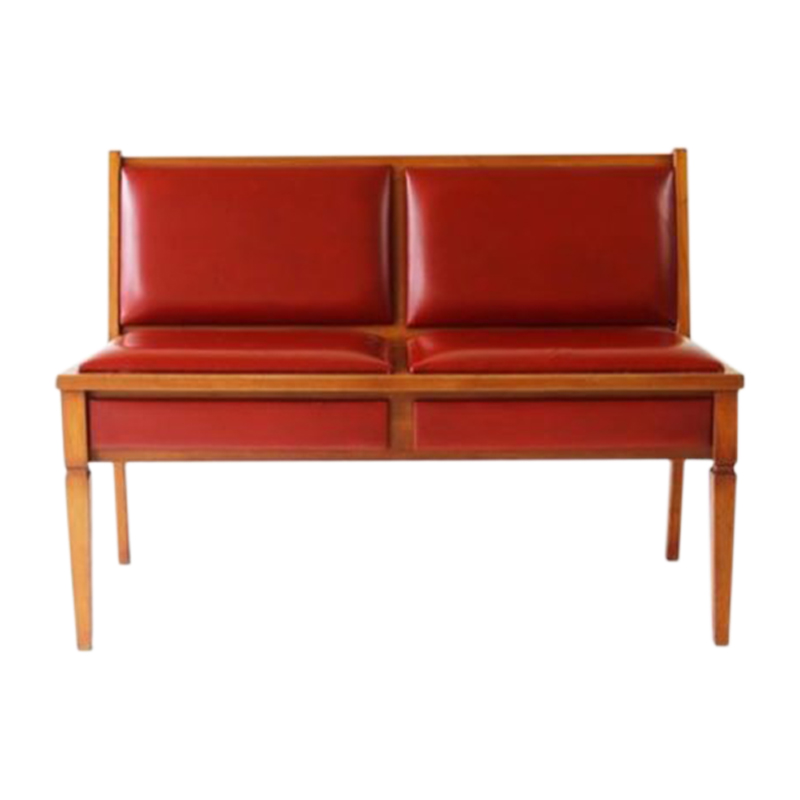 Double bench, Germany, 1960s.