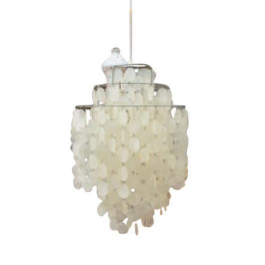 Pendant Lamp or Chandelier FUN 1DM by Verner Panton for Lüber, Switzerland 1960s