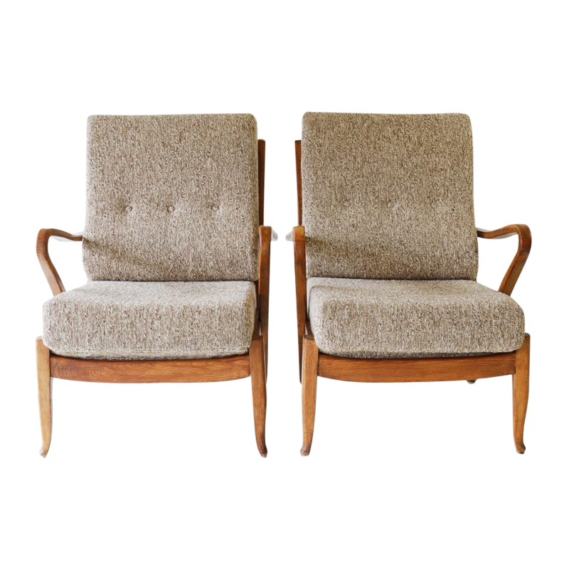 Armchairs – Molliperma, producer – BSA, Germany in the 1950s.