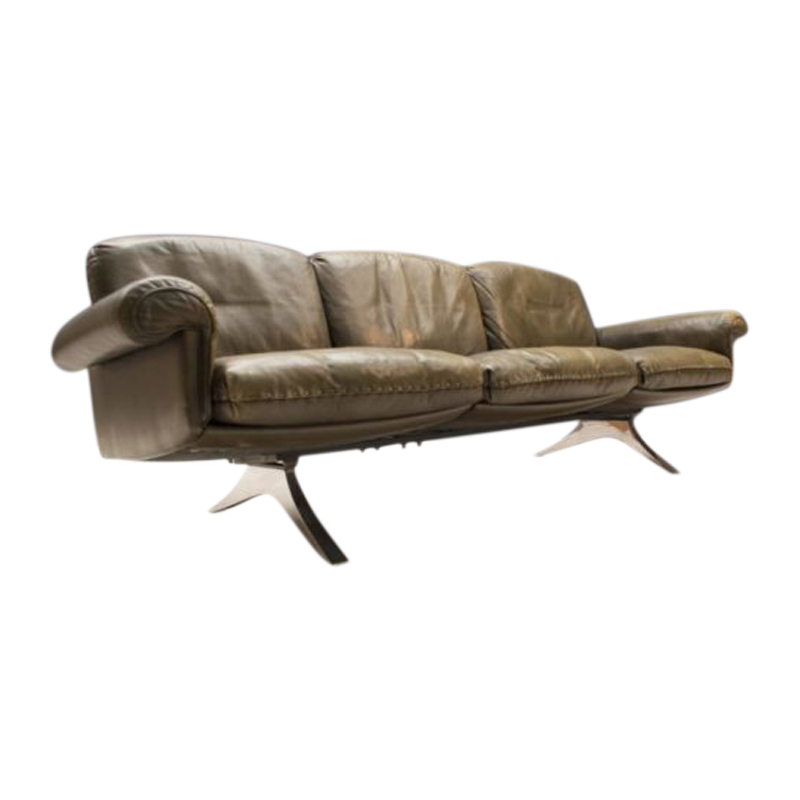 Swiss 3-Seater Model DS31 Sofa from de Sede, 1960s