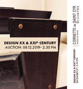 Design XX & XXI century - Cornette de St Cyr
