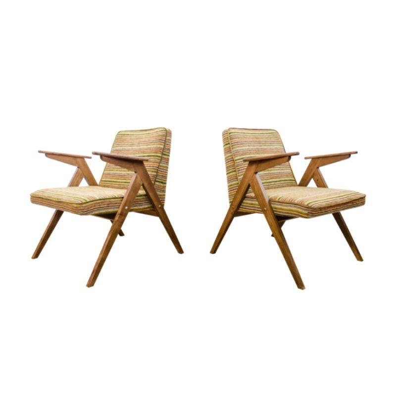 "Pair of Type 300-177 ""Bunny"" armchairs 1970's"