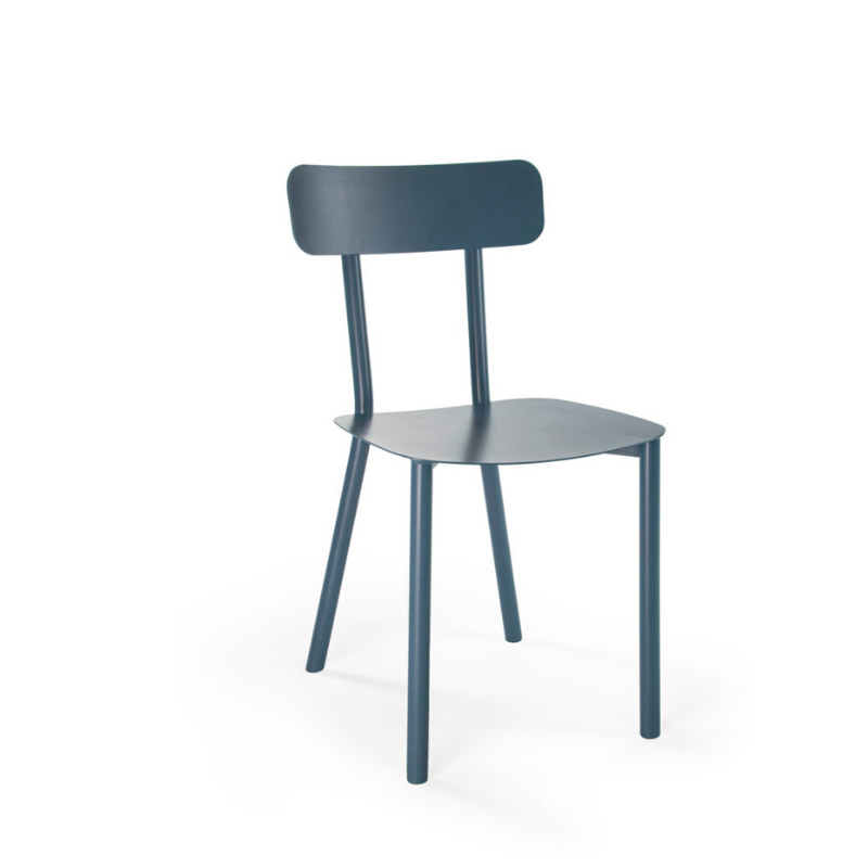 Picto Open back chair – Blue