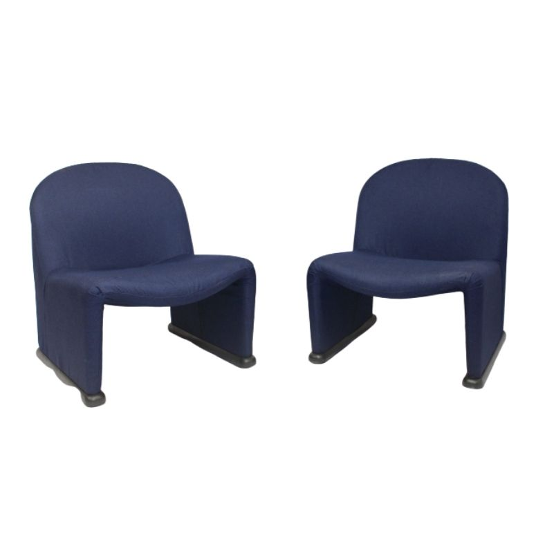 Pair of Alky Lounge Chairs, Giancarlo Piretti, 1969