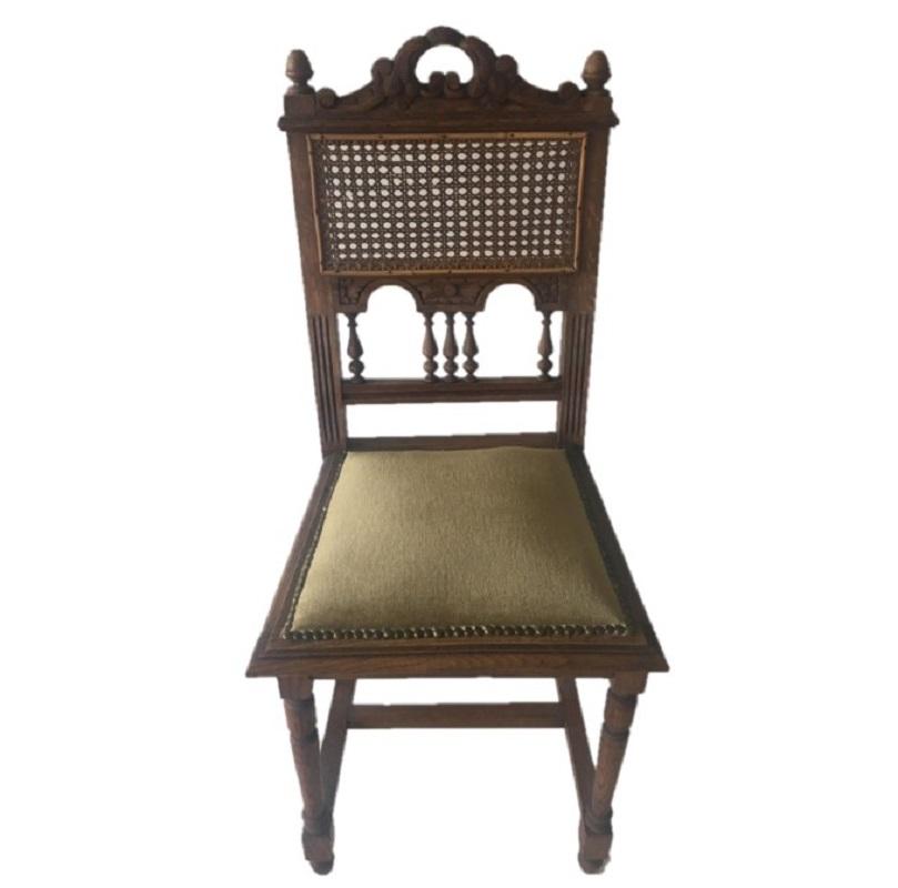 Oak office chair, Germany, interwar