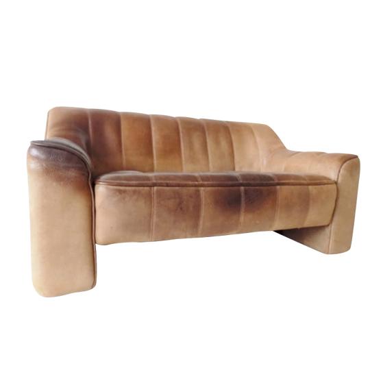De Sede DS44 2 seater leather sofa