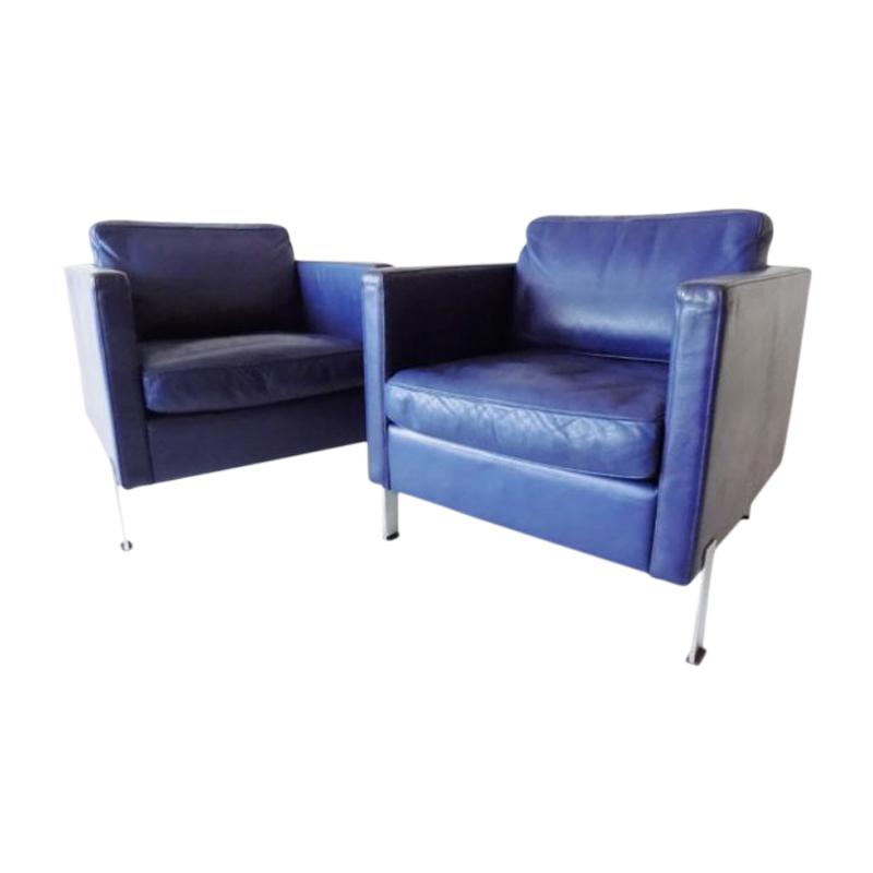 De Sede DS 118 Leather Clubchairs -pair-