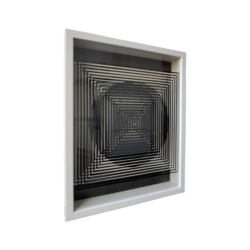 Kinetic work by V. Vasarely 1
