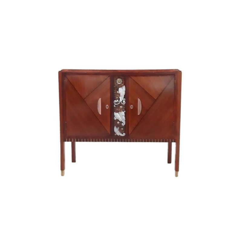 Art Deco Cabinet by Emile Cambier, 1930s