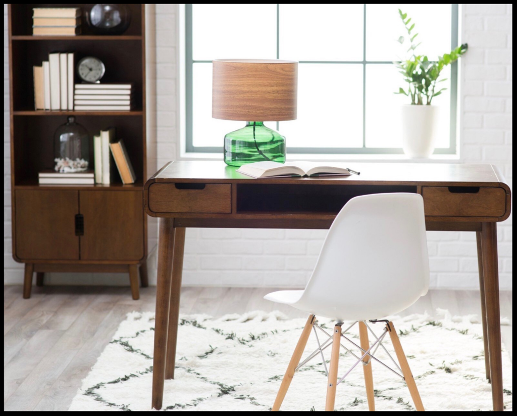 Image of: How To Create The Picture Perfect Mid Century Modern Home Office Design Addict