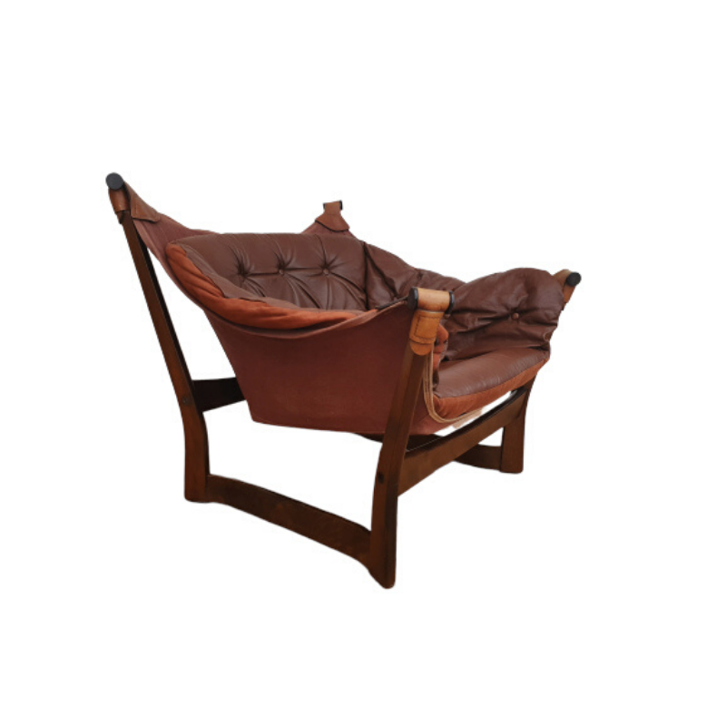 Lounge Chair Trega by Tormod Alnaes for Sørliemøbler, original condition