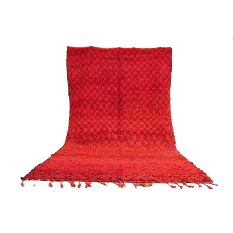 Moroccan rug 5'x10′ Beni Mguild rug, The Genuine Moroccan rug 100% WOOL