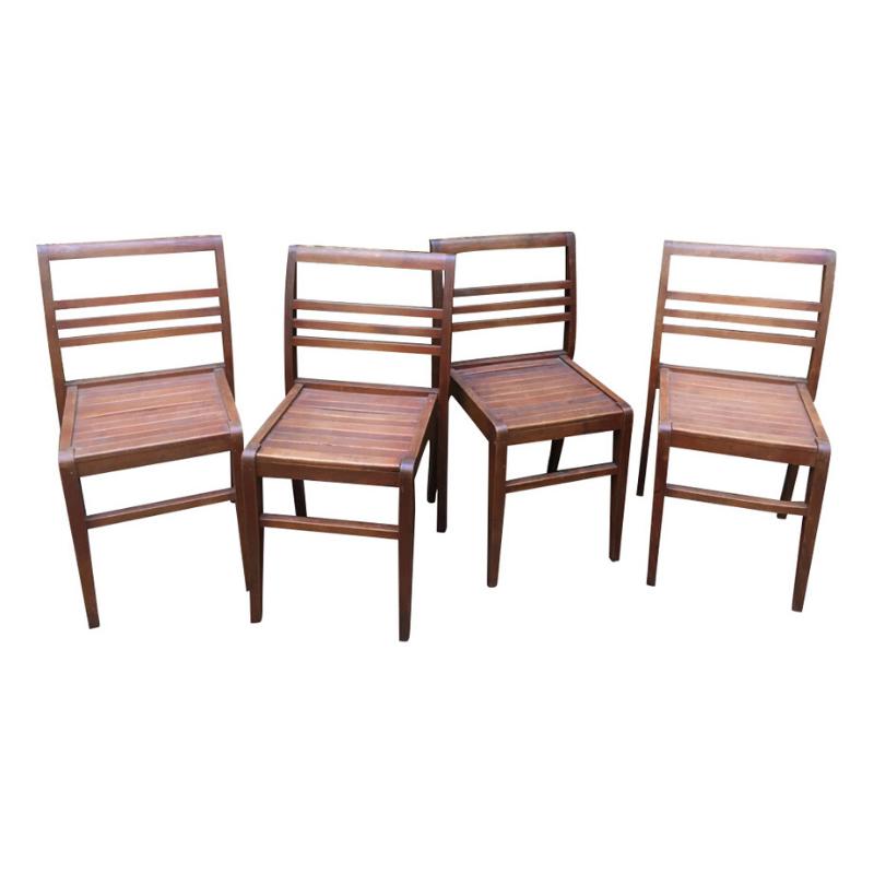 4 chairs / René Gabriel