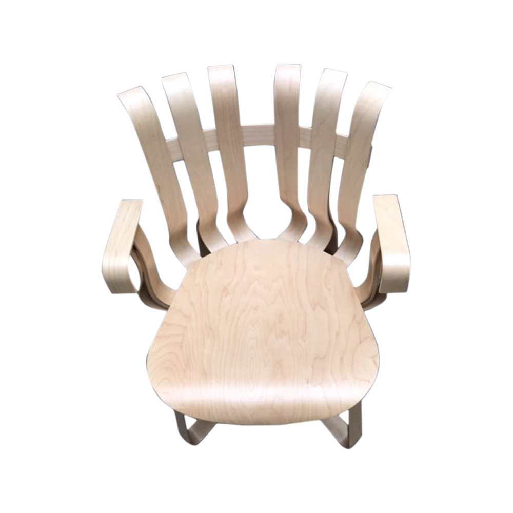 """""""Hat Trick"""" Armchair by Franck Gehry 1990"""