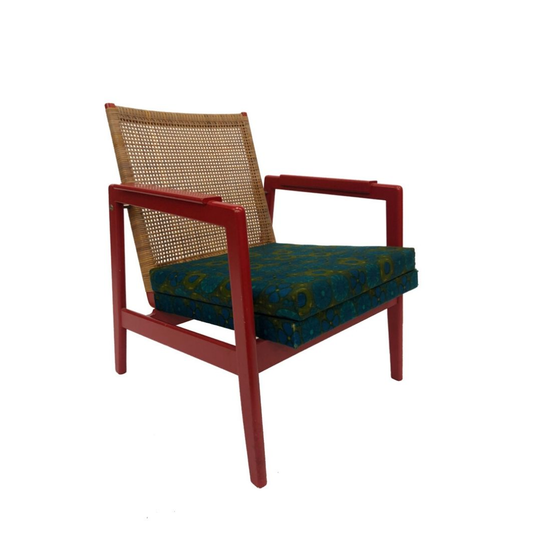 P.J. Muntendam for brothers Jonkers design armchair from the 50s from the Netherlands