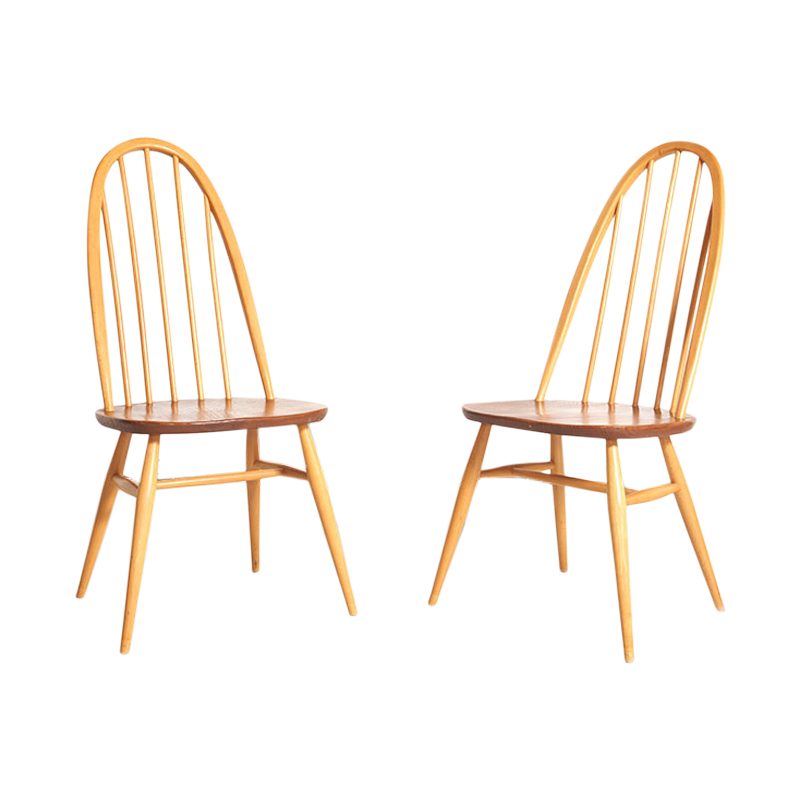 Pair of Ercol chairs 1960
