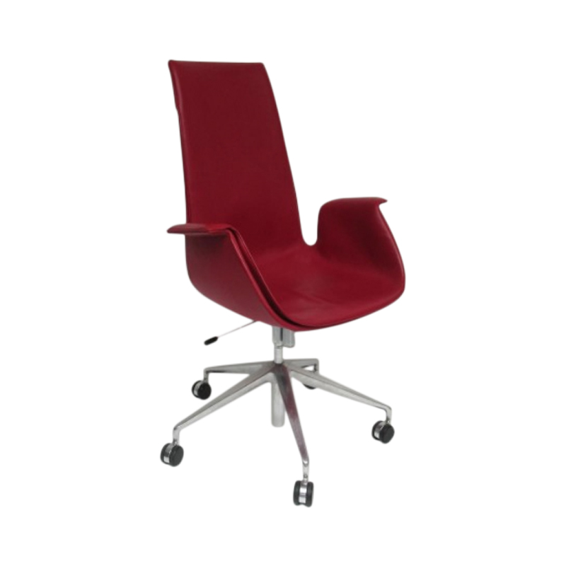 FK Bucket Seat Chair Fabricius & Kastholm by Walter Knoll