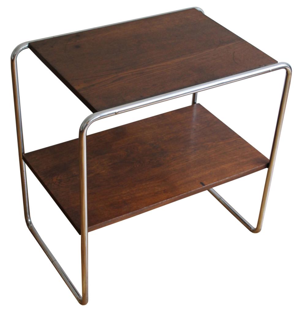 Modernist Tubular Side Table
