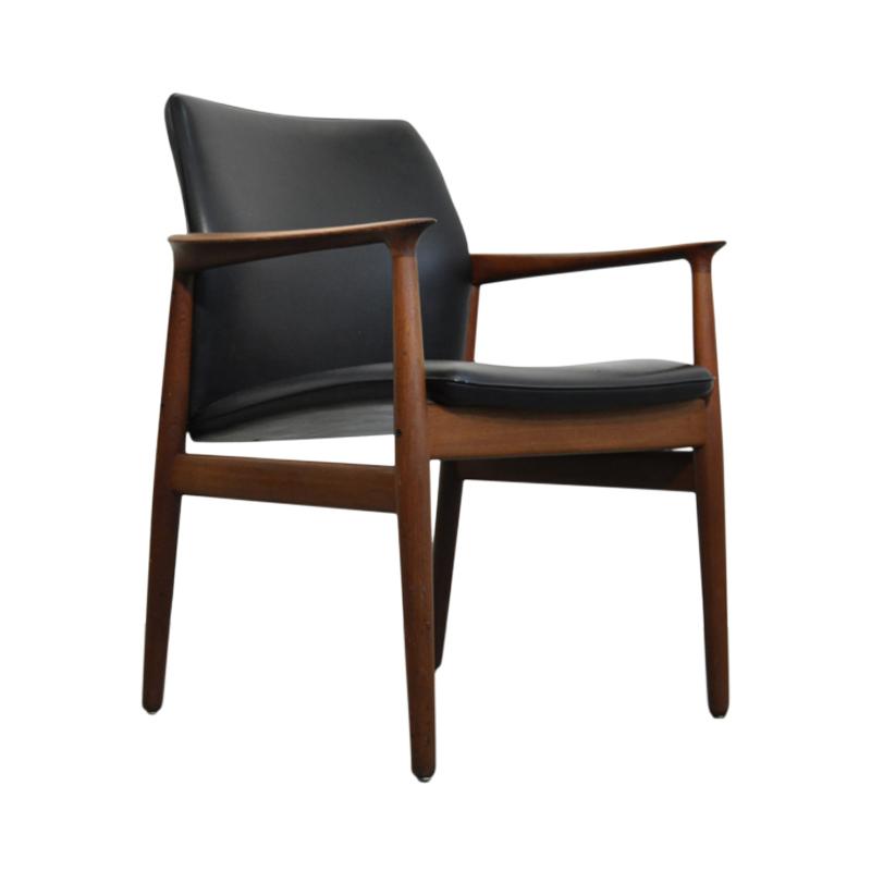 Teak armchair by Grete jalk for Glostrup Denmark 1960s