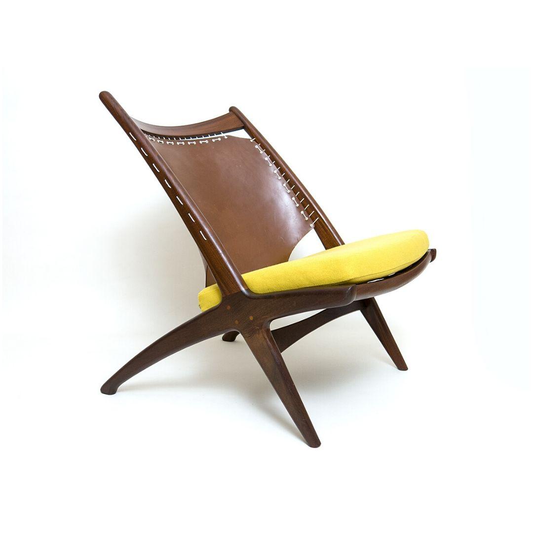 Krysset Lounge Chair design Fredrik Kayser for Gustav Bahus
